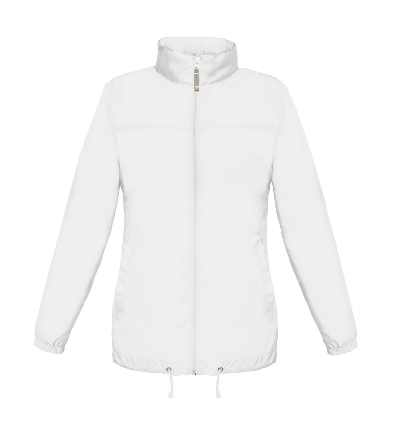 Ladies Windbreaker, White - Kant Oberschule