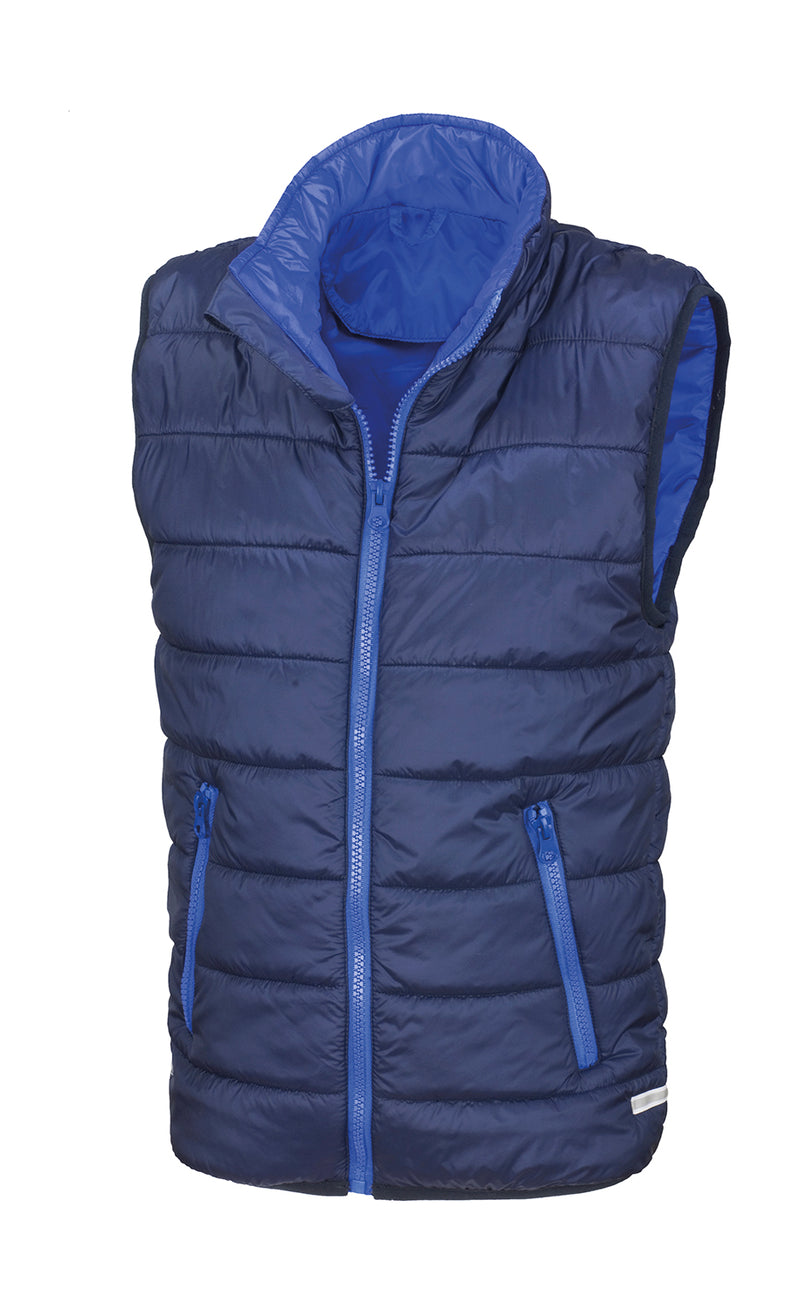 Kids Bodywarmer, Navy/Royal - Kant Kindergarten