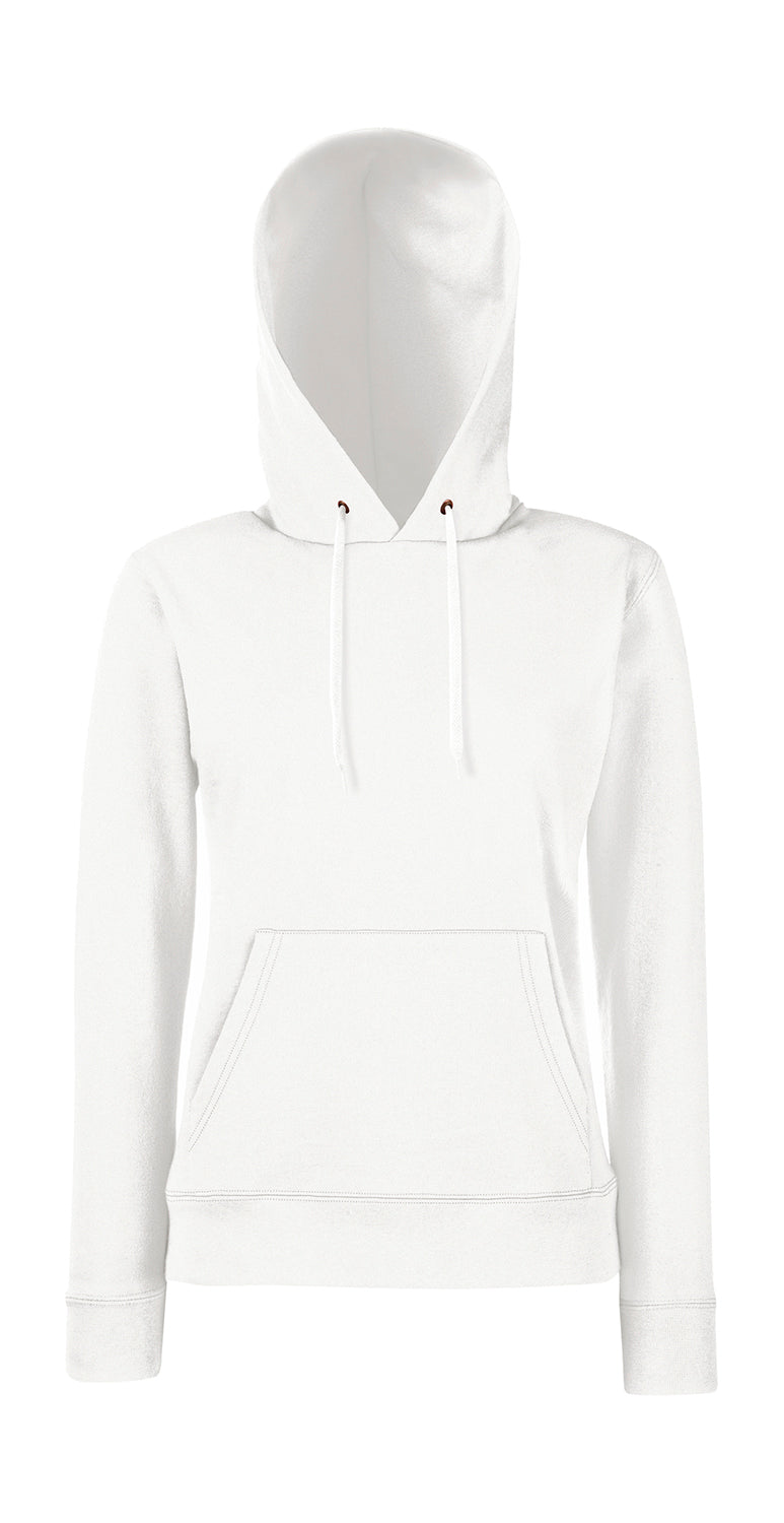 Damen Hooded Sweat FoL, White - Kant Kindergarten
