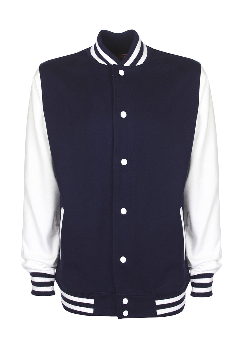 College Jacket, Navy/White - Kant Oberschule