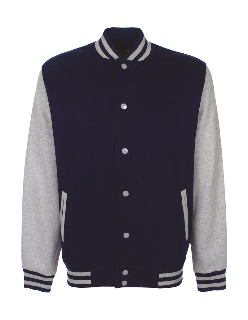 College Jacket, Navy/Sport Grey - Berlin International School