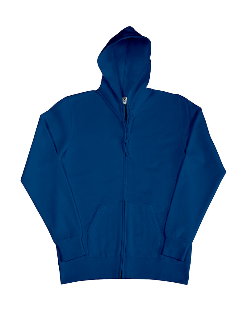 Ladies Hooded Zip Sweat SG, Navy - Berlin International School
