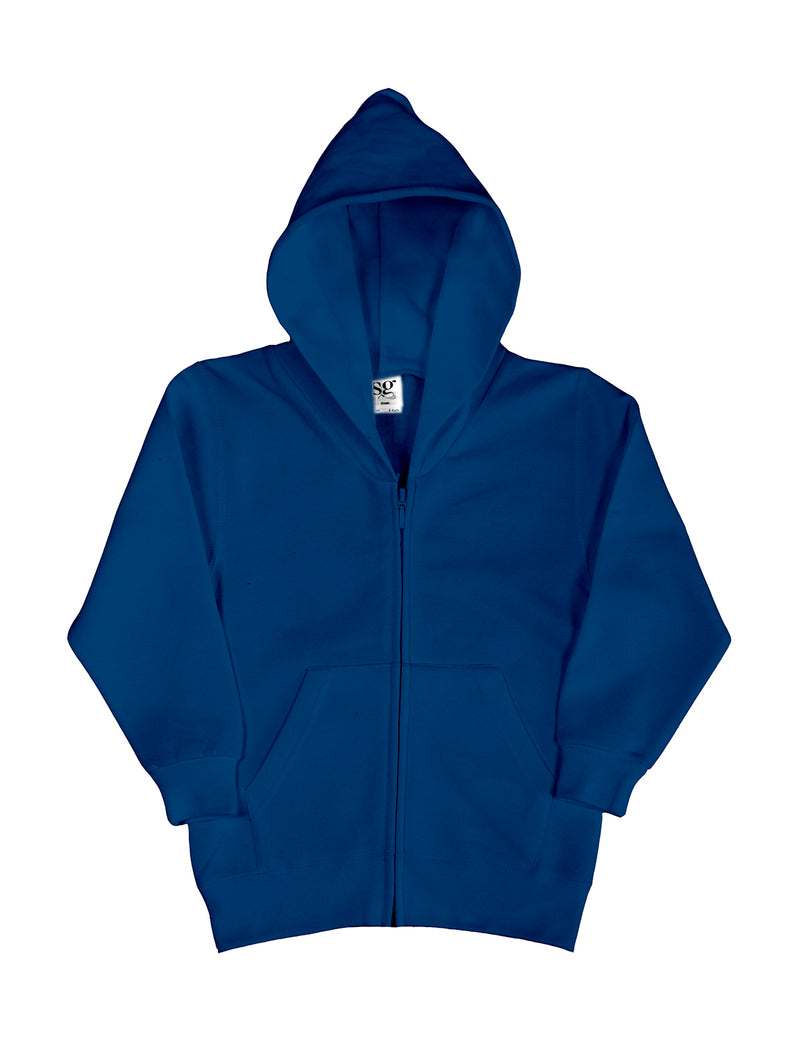 Kis Hooded Zip Sweat SG, Navy - Kant Kindergarten