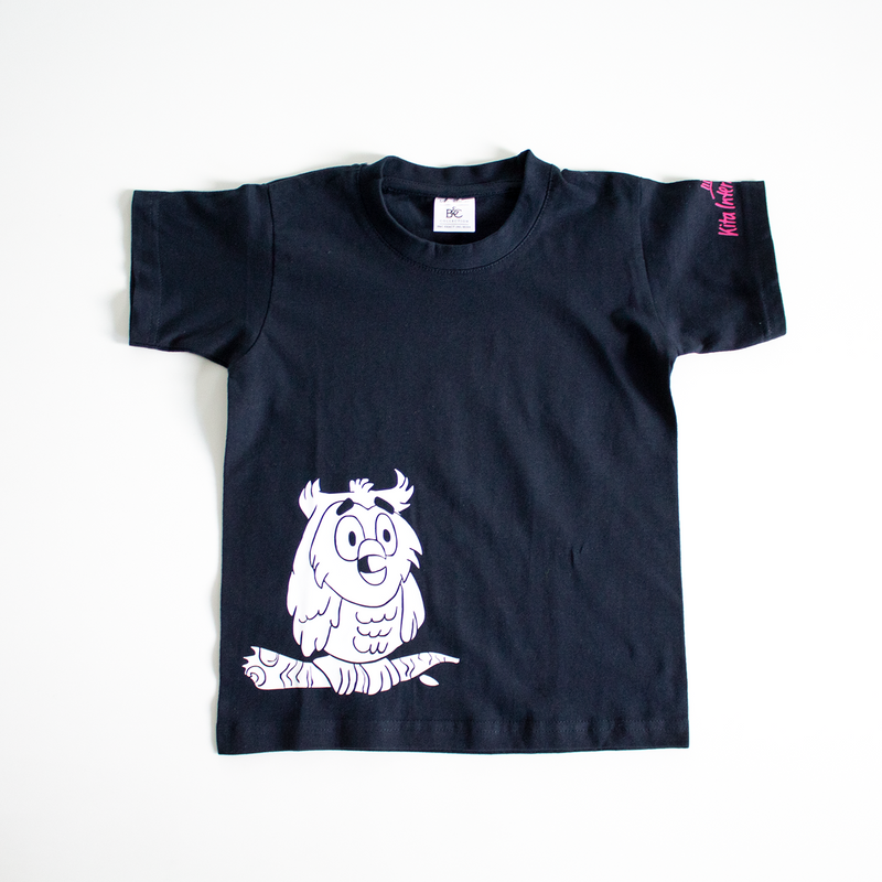 Owls T-Shirt Kids - navy
