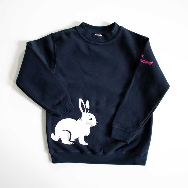 Rabbits Sweatshirt Kids - navy