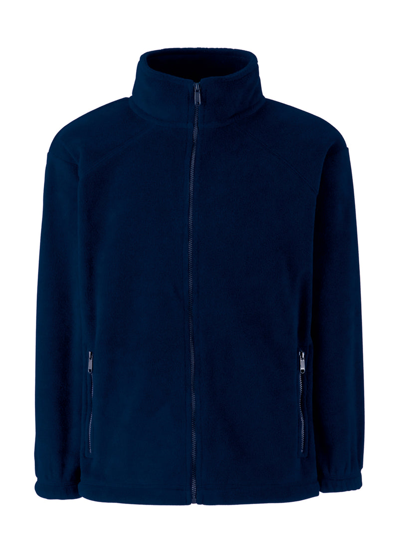 Kids Fleece Jacke, Deep Navy - Kant Oberschule