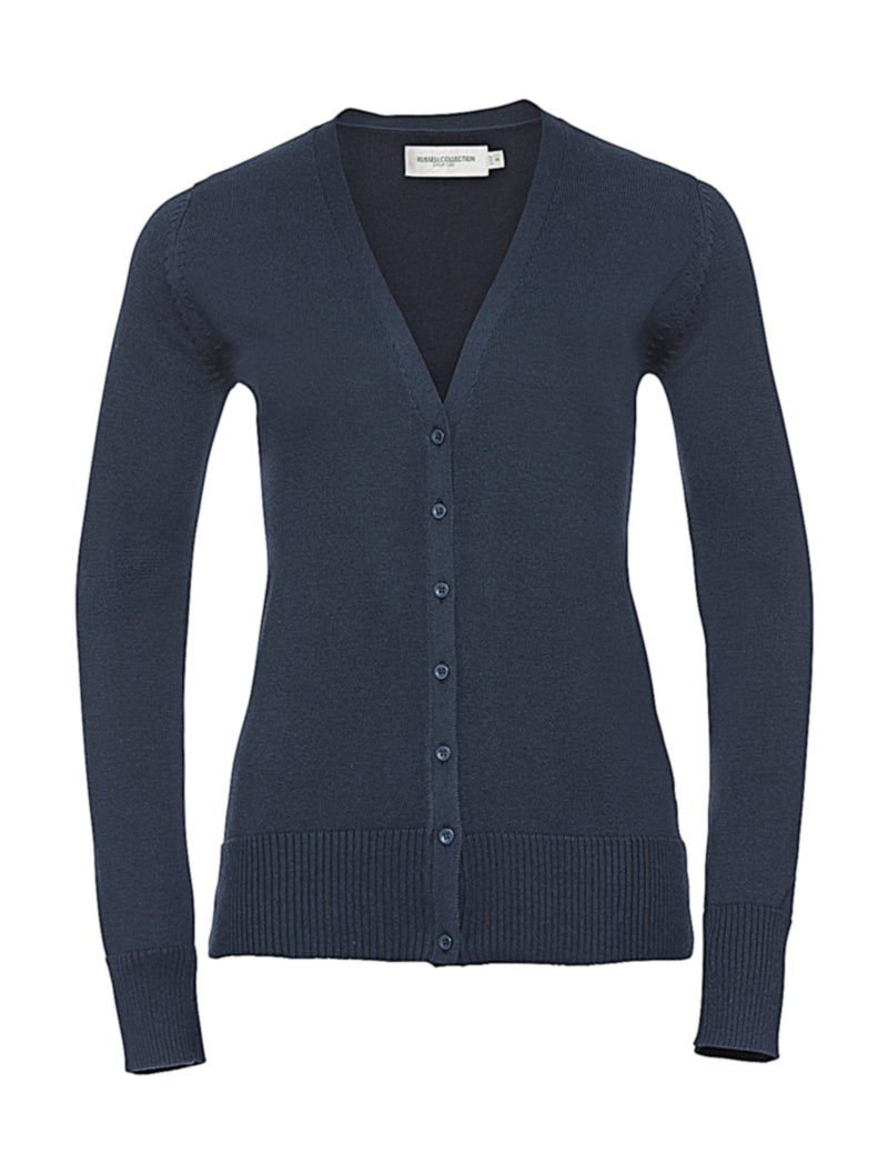 Ladies Cardigan, French Navy - Kant Oberschule