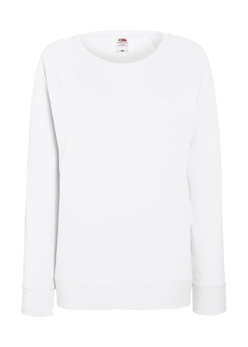 Damen Sweat Shirt FoL, White - Kant Oberschule