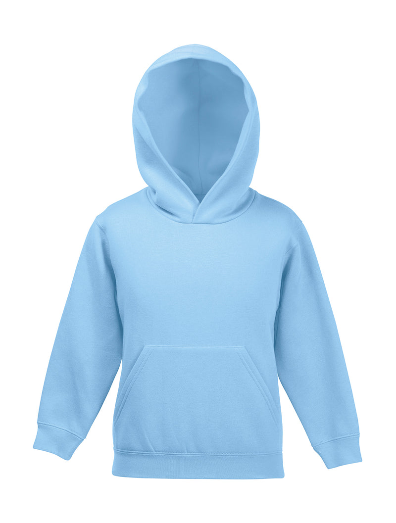 Kids Hooded Sweatshirt FoL, Sky Blue - Internationale Schule Berlin