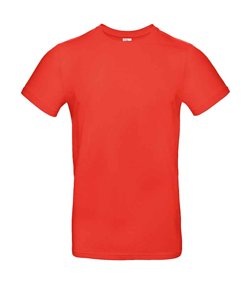 Herren T-Shirt, Sunset Orange - Kant Grundschule