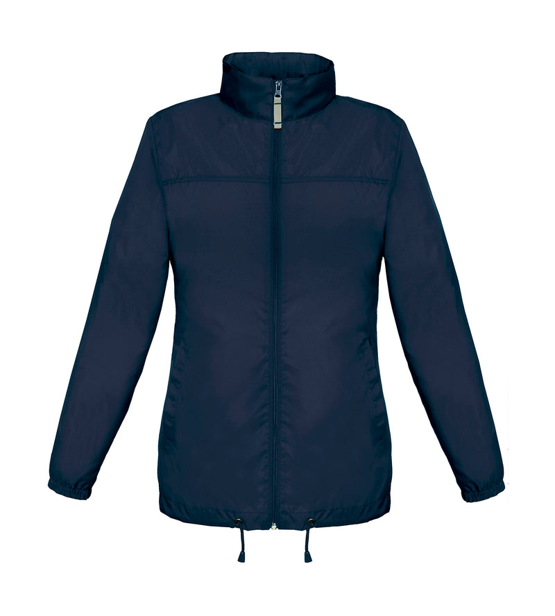 Ladies Windbreaker, Navy - Berlin International School