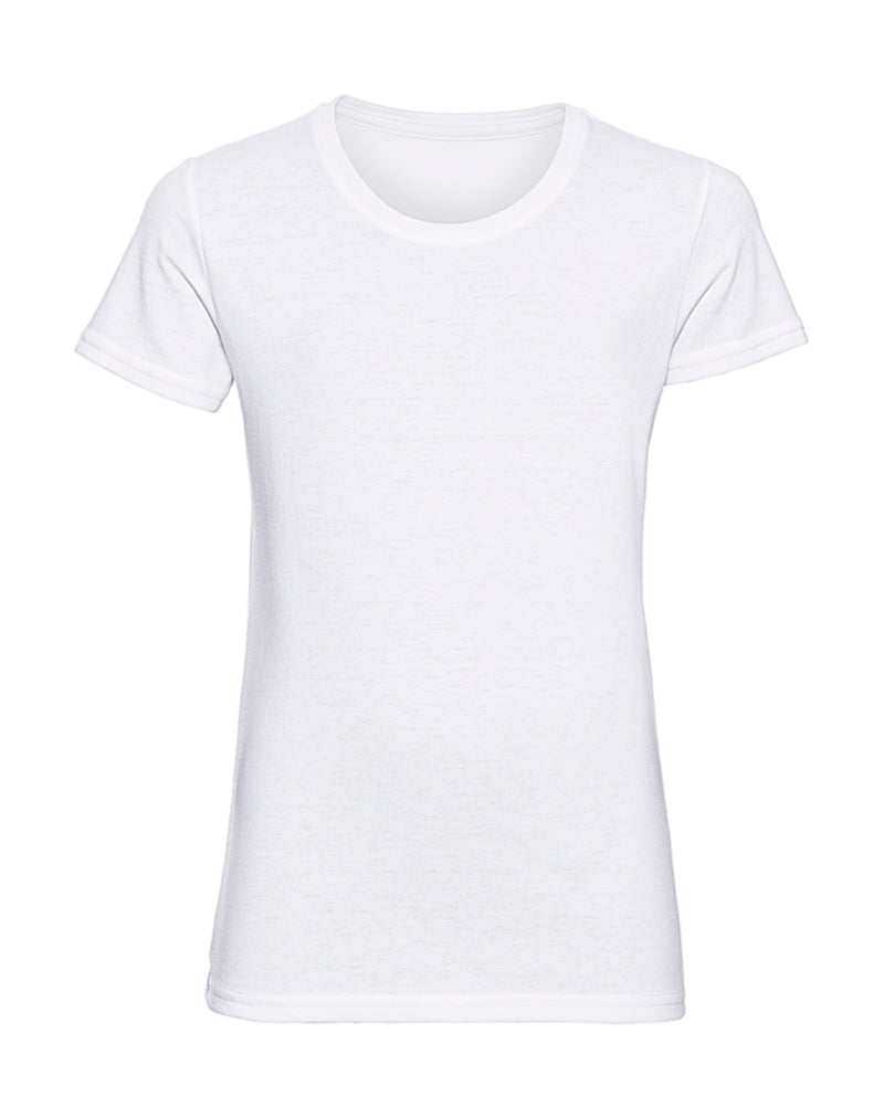 Girls T-Shirt, White - Kant Kindergarten