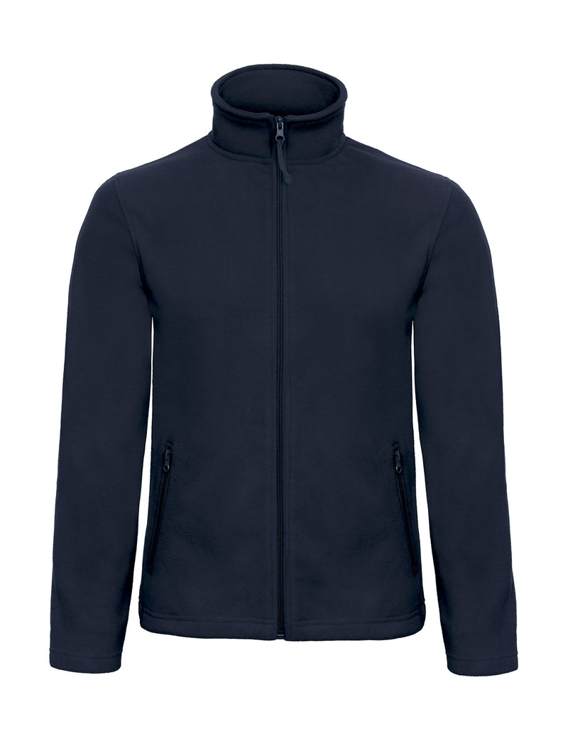 Micro Fleece Full Zip, Navy - Berlin International School