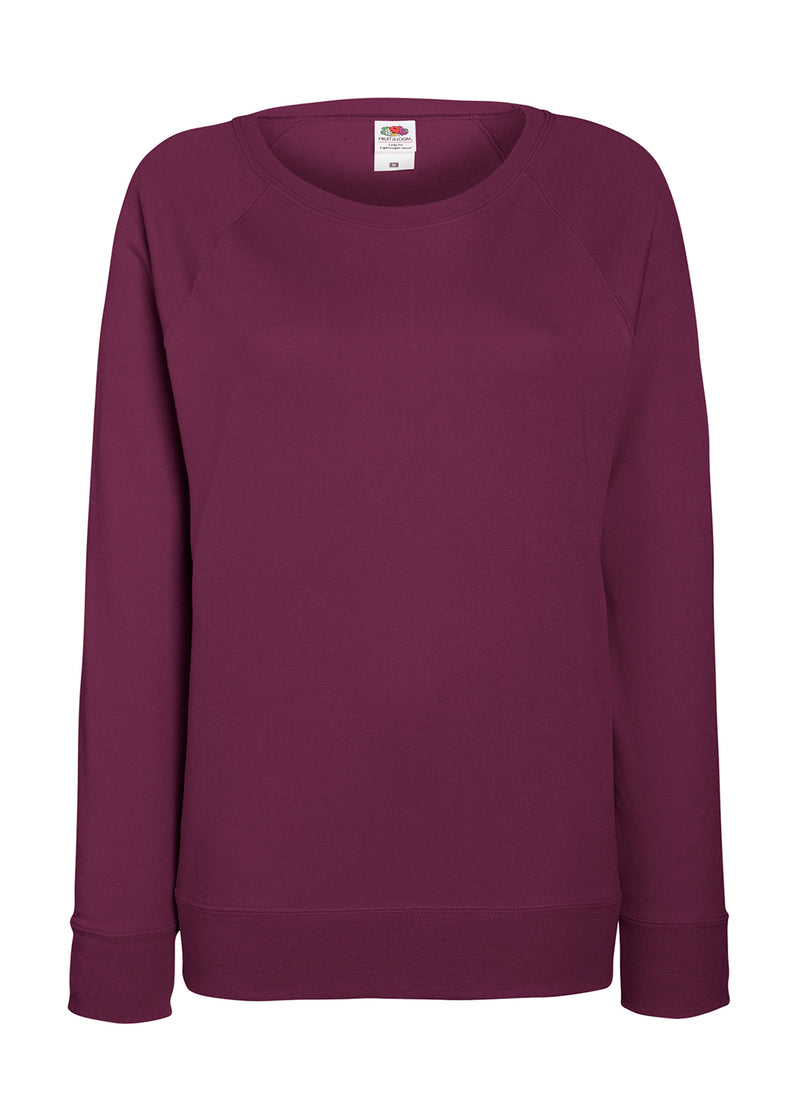 Damen Sweat Shirt FoL, Burgundy - Kant Oberschule