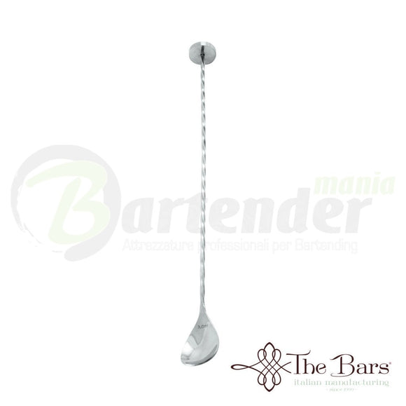 Bar Spoon Inox 18/10 con Pestino cm 30