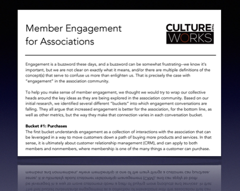Member Engagement for Associations