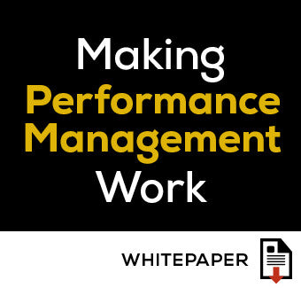Making Performance Management Work