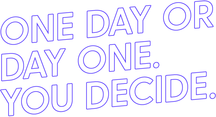 Physical Nation Motivation Quote One Day or Day One