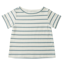 Blue Stripe Summer Tee