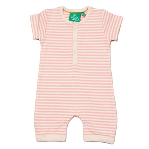 Pink & Cream Stripe Shortie