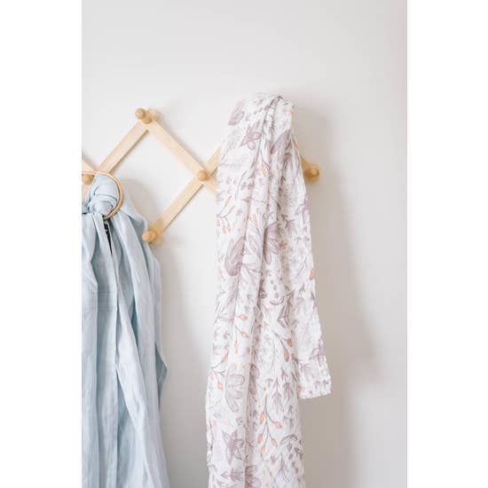 Blushing Blossoms Swaddle Blanket
