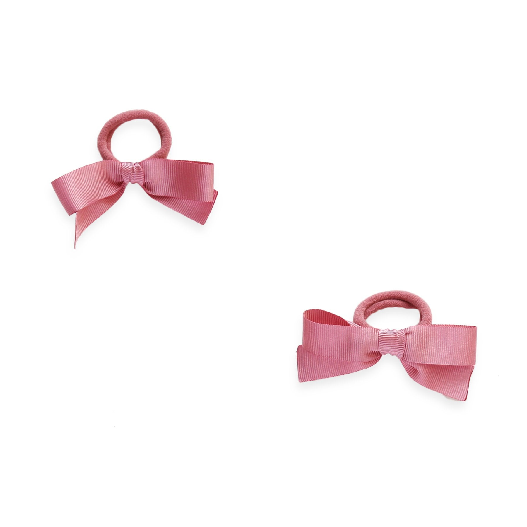 Grosgrain Hair Ties - Old Pink