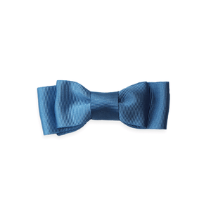 Midi Grosgrain Bow - French Blue
