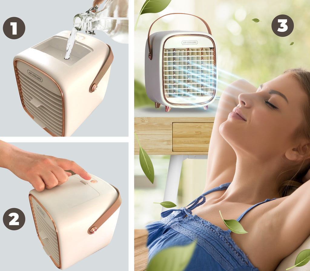 portable air cooling fan