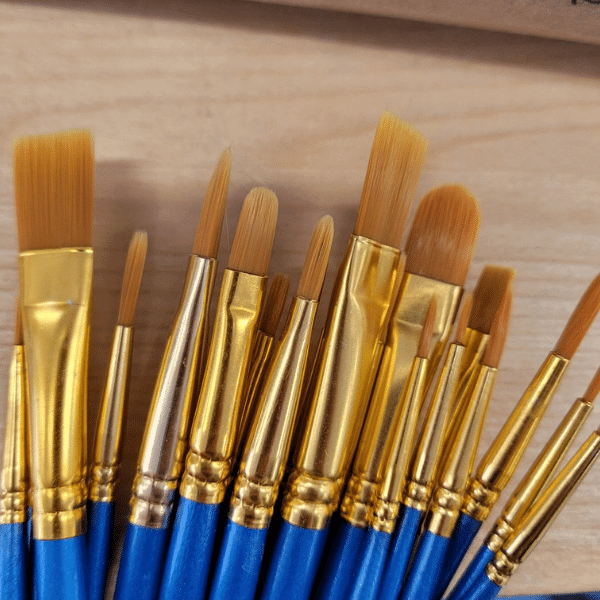 Wood Handle Brushes