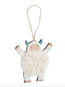 Yeti Arms Up Ornament