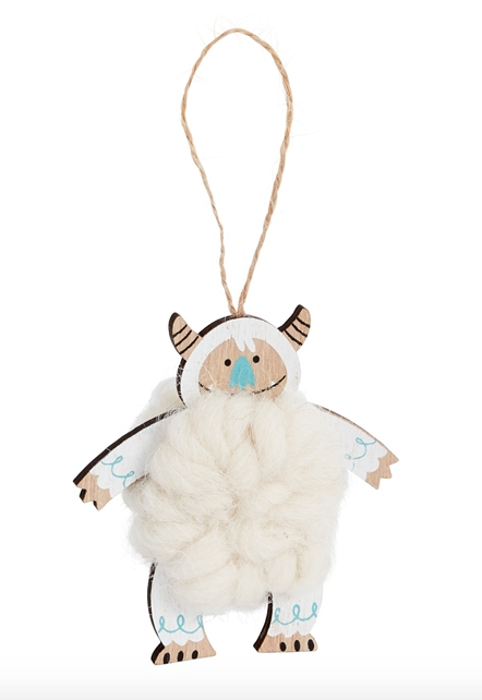 Yeti Arms Down Ornament