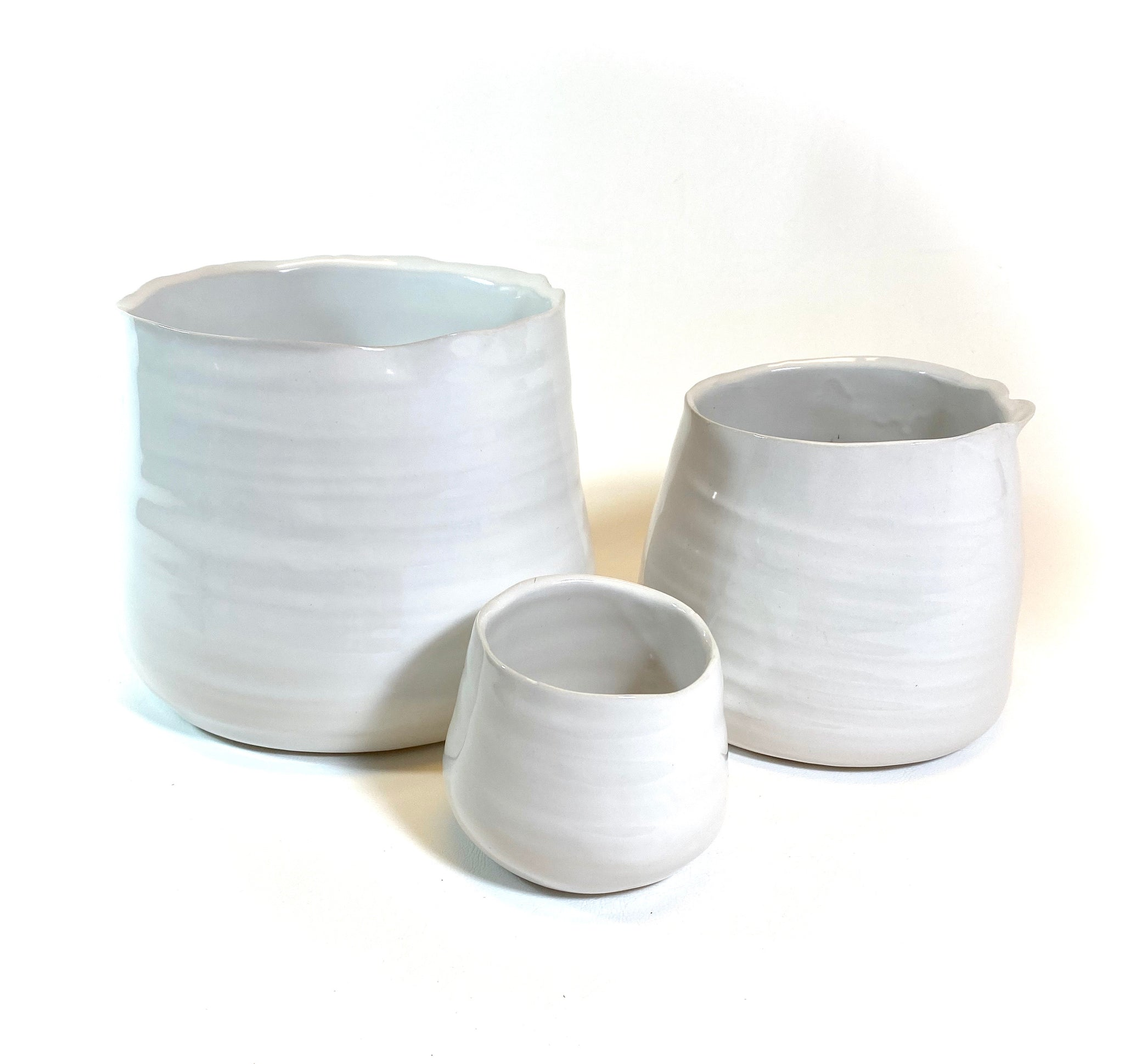 Tegan Planter White