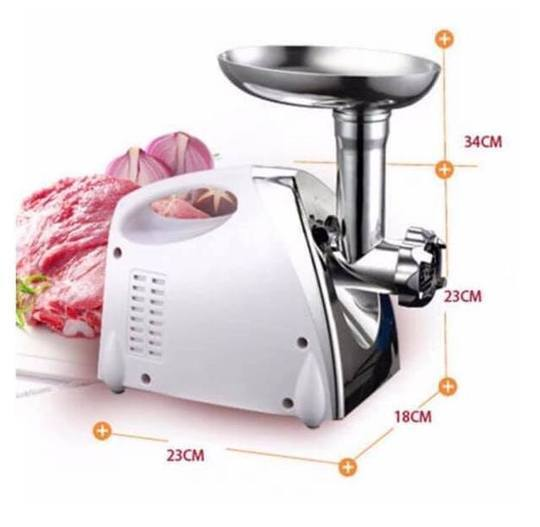 ELECTRIC MEAT GRINDER & SAUSAGE FILLER