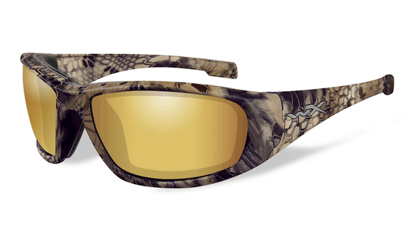 WX BOSS Polarized Venice Gold Mirror (Amber)/ Kryptek® Highlander™