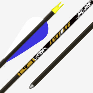 "GOLD TIP ARROW LIGHTNING (.246) 28"" 2.5"" Feathers (EA)"