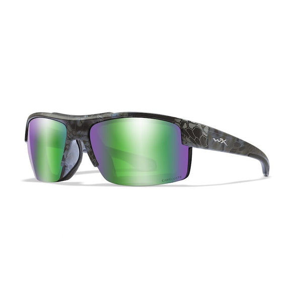 WX COMPASS Polarized Emerald Mirror/Kryptek® Neptune™