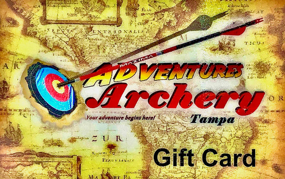 ADVENTURES ARCHERY GIFT CARD
