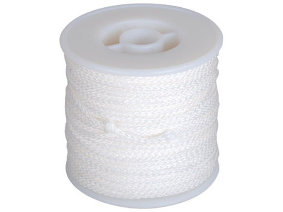 AMS 40 yds 640# Braided Spectra Line (White) - While Supplies Last