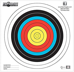 NICE TARGETS 40CM SINGLE SPOT COLOR