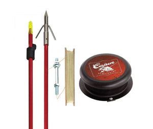 CAJUN Piranha Kit ( Arrow, Spool, Line)