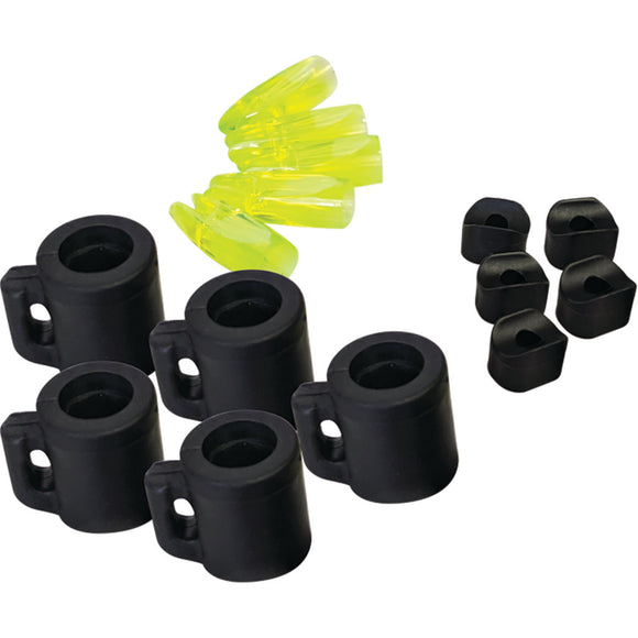 CAJUN Arrow Slide 5 pack Black