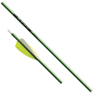 VICTORY ARROW Ares Green 500 Feather Fletched - 3 Pack