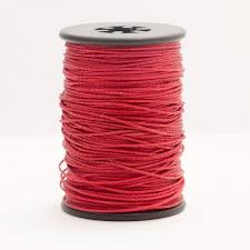 BCY NOCK PEEP NYLON SERVING STRING RED