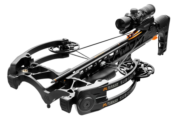 MISSION CROSSBOW Sub 1 Lite Black Pro Kit