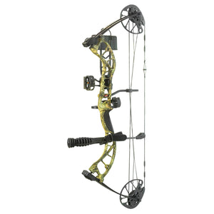 "DESCRIPTION The PSE UPRISING™ is an affordable, highly adjustable compound bow. Set your draw length from 14"" to 30"" and draw weight from 15 to 70 lbs. The UPRISING™ delivers 310 fps at a great price."