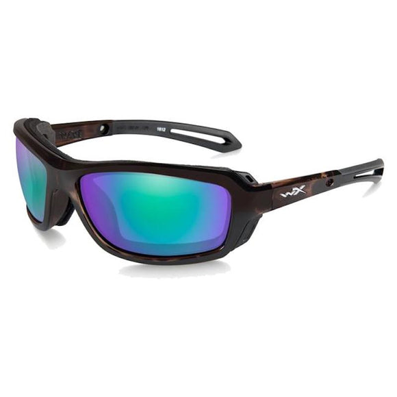 WX WAVE Polarized Emerald Mirror/Gloss Demi