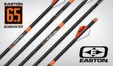 "EASTON ARROW 6.5MM ACCU-CARBON BOWHUNTER (.006) 2"" VANES 340 (6)"