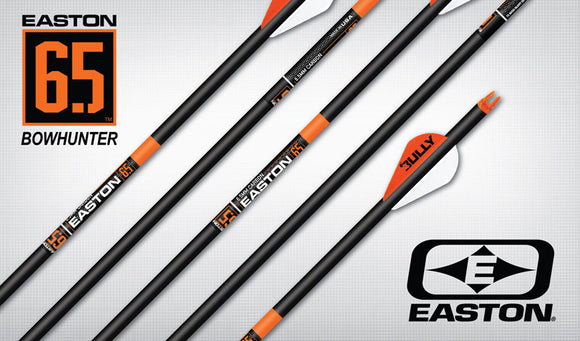 EASTON ARROW 6.5 BOWHUNTER 2'' BULLY VANES 400 (72)