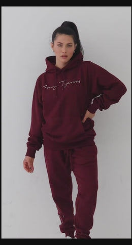 Young Tycoons Maroon Jogger
