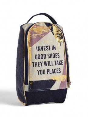 GOIN' PLACES  SHOE BAG